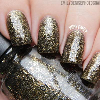 China Glaze - Monsters Ball - Bat My Eyes