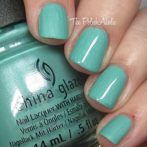 China Glaze - Seas and Greetings - Partridge In A Palm Tree