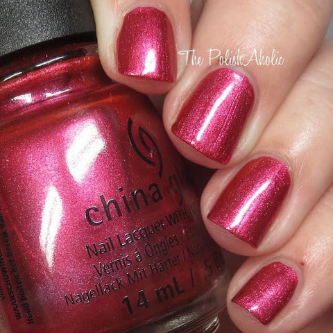 China Glaze - Seas and Greetings - The More The Berrier