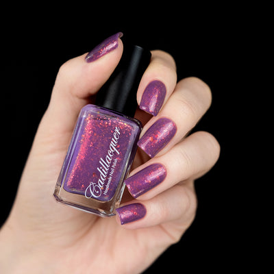 Cadillacquer - Summer Flakies - Choose To Be Happy