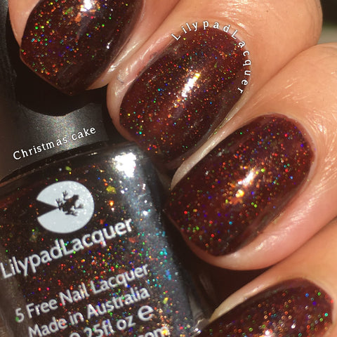 Lilypad Lacquer - Christmas Cake