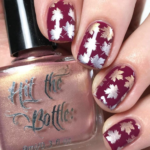 Hit The Bottle stamping polish - Champagne Shifter (9ml)