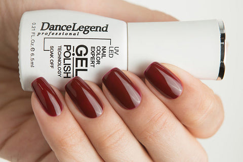 Dance Legend Gel Polish - 038 Burgundy Queen