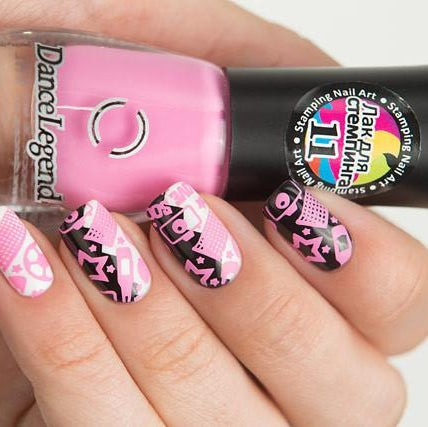 Dance Legend - Stamping - 11 Pink