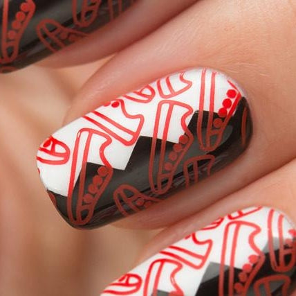 Dance Legend - Stamping - 01 Red