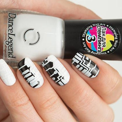 Dance Legend - Stamping - 03 White