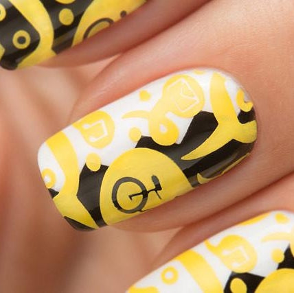 Dance Legend - Stamping - 06 Yellow