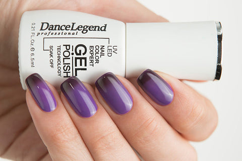 Dance Legend Gel Polish - 705 Under Back (thermal gel top coat)