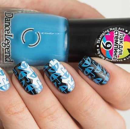 Dance Legend - Stamping - 09 Blue