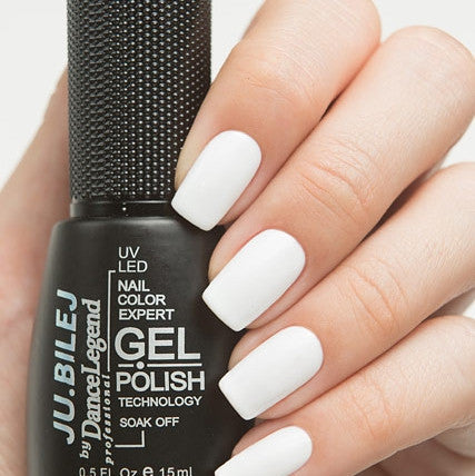 Ju.Bilej by Dance Legend - Gel Polish B01 White