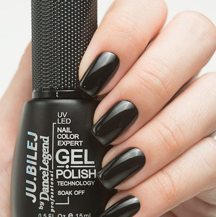 Ju.Bilej by Dance Legend - Black Gel Base Coat