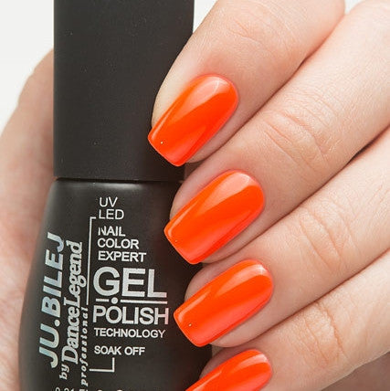 Ju.Bilej by Dance Legend - Gel Polish C06 Orange