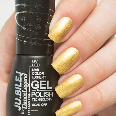Ju.Bilej by Dance Legend - Gel Polish E01 Gold