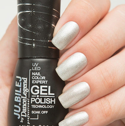 Ju.Bilej by Dance Legend - Gel Polish E02 Silver