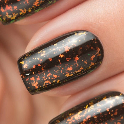 Ju.Bilej by Dance Legend - Gel Polish E10 Spark Flake Gold (LE)