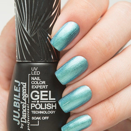 Ju.Bilej by Dance Legend - Gel Polish M06 Aqua Magic