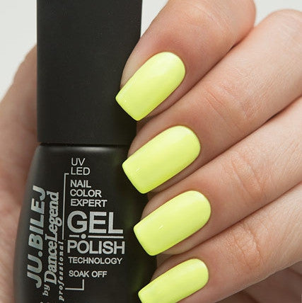 Ju.Bilej by Dance Legend - Gel Polish S12 Canary
