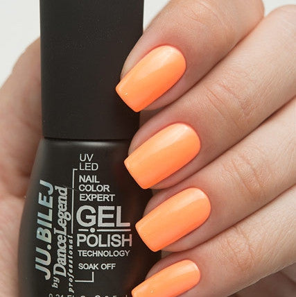 Ju.Bilej by Dance Legend - Gel Polish S04 Neon Orange