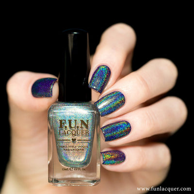*PRE-SALE* F.U.N Lacquer - Diamond (holographic top coat)