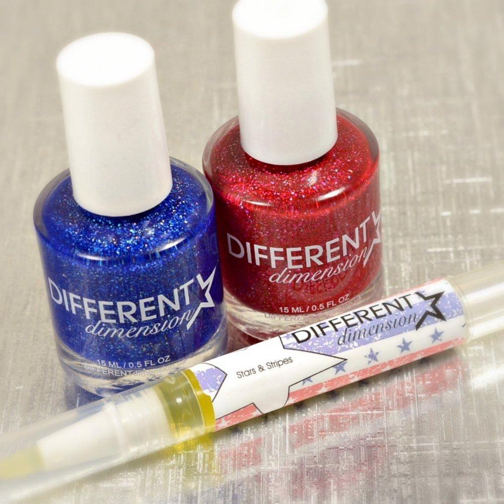 Different Dimension - Let Freedom Ring Set (includes cuticle oil)