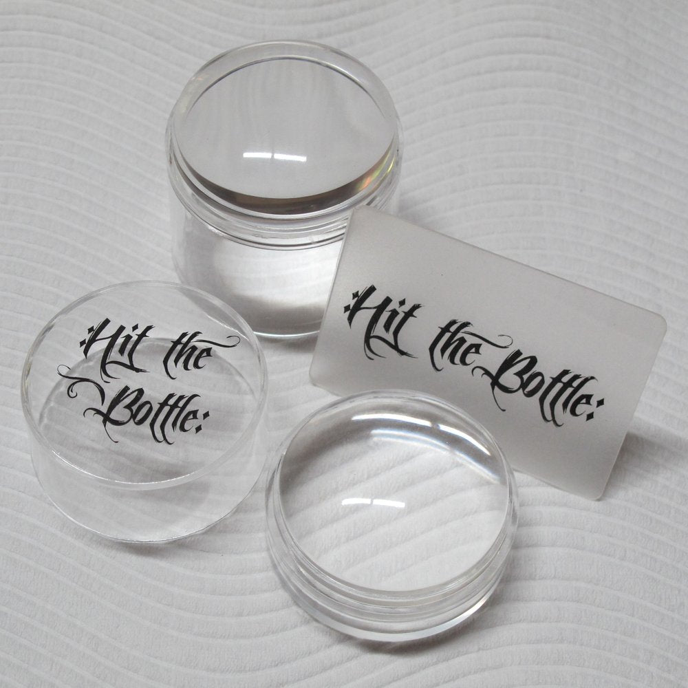 Hit The Bottle *Double Shot - No Ice* Large Stamper