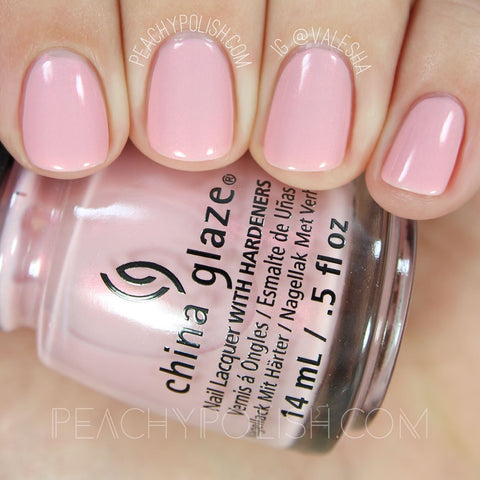 China Glaze - Seas and Greetings - Eat, Pink, Be Merry