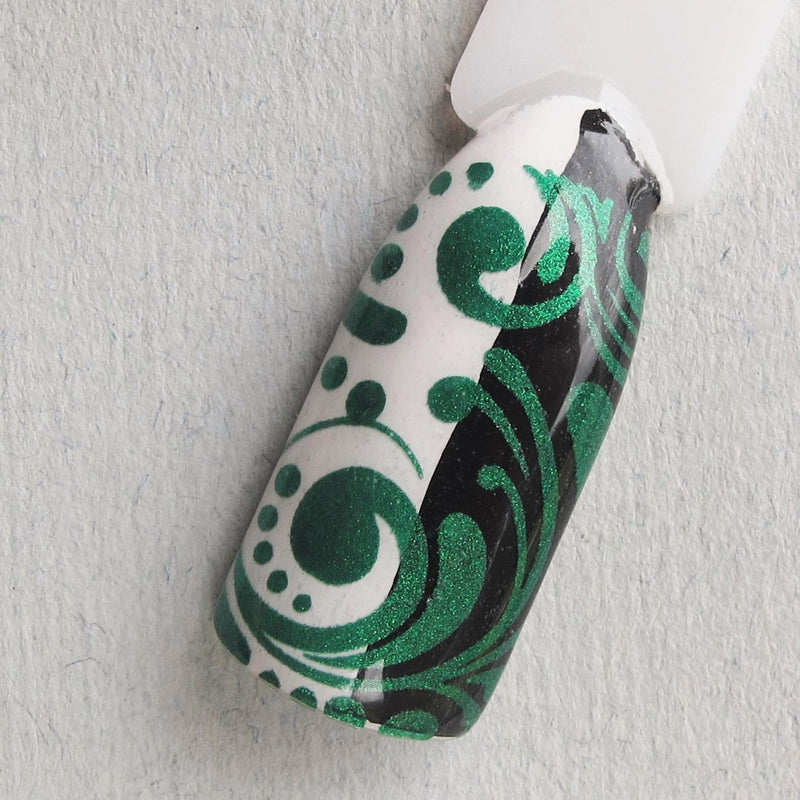 Hit The Bottle stamping polish - Emeralds are Forever (9ml)