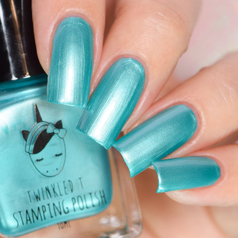 Twinkled T - stamping polish - Fangirl
