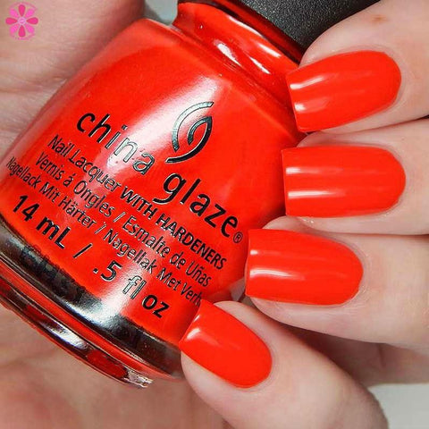 China Glaze - Summer Reign - Flame-Boyant