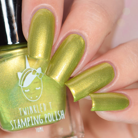 Twinkled T - stamping polish - Friendzone
