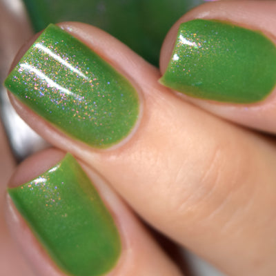 Blush Lacquers - Green With Envy