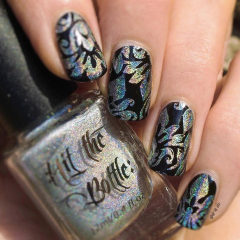 Hit The Bottle stamping polish - Holo there Beautiful! (9ml)