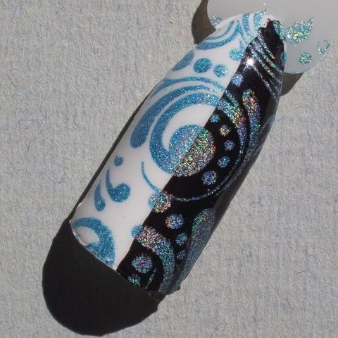 Hit The Bottle stamping polish - Hololulu Blue (9ml)