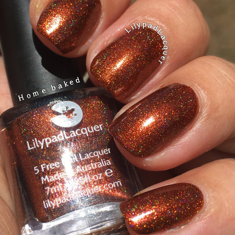 Lilypad Lacquer - Home Baked