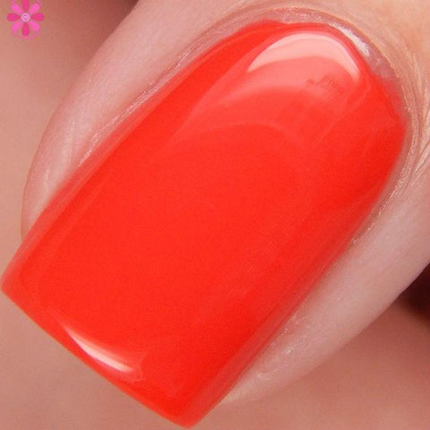 China Glaze - Lite Brites - Hot Flash