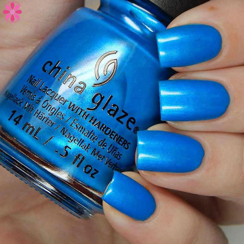 China Glaze - Summer Reign - I Truly Azure You