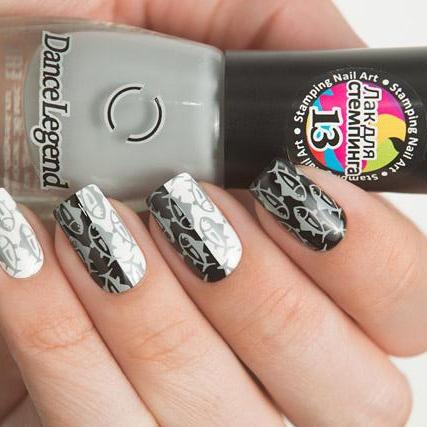Dance Legend - Stamping - 13 Grey