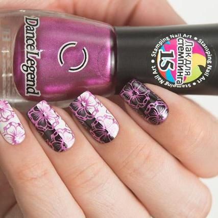 Dance Legend - Stamping - 15 Metallic Magenta