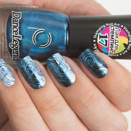 Dance Legend - Stamping - 17 Metalic Blue