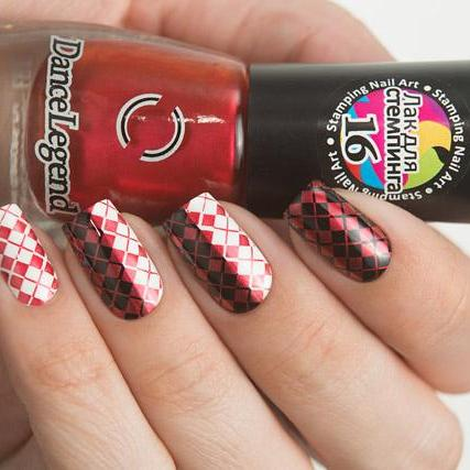 Dance Legend - Stamping - 16 Metalic Red