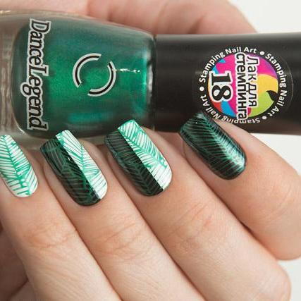Dance Legend - Stamping - 18 Metalic Green
