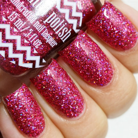 Painted Polish - Rosy in Red