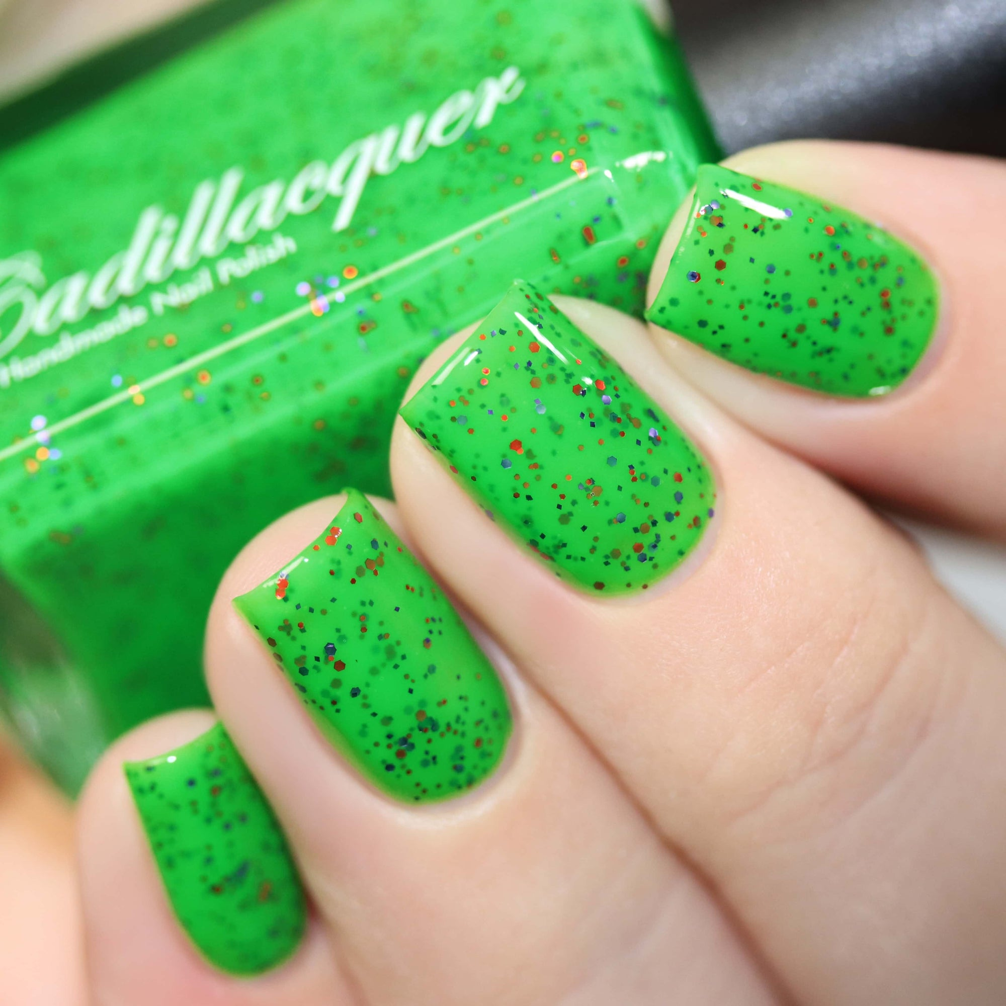 Cadillacquer - Halloween 2018 - Poison Ivy
