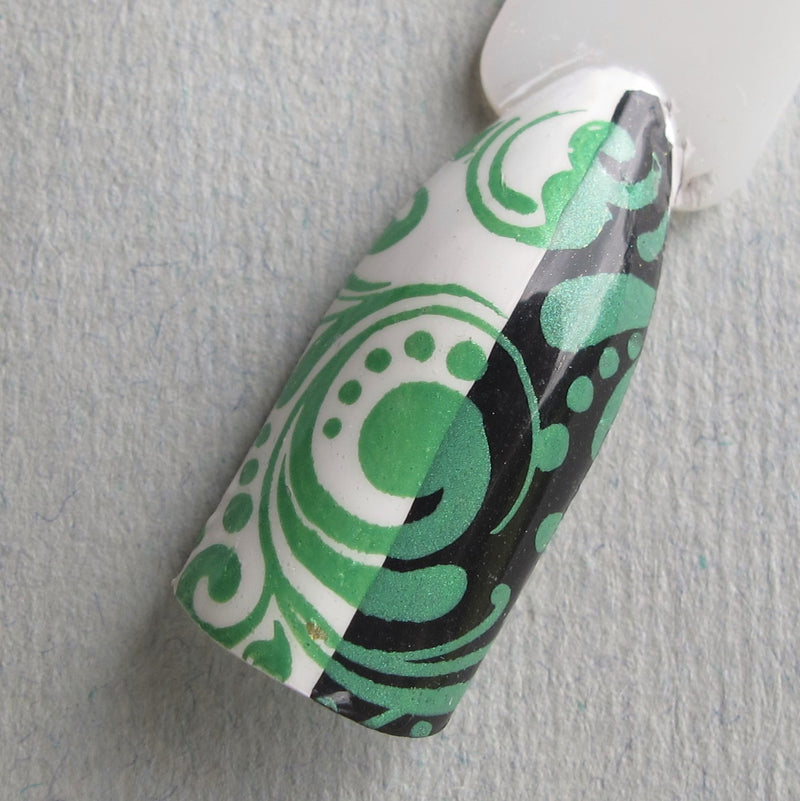 Hit The Bottle stamping polish - I Dream of Greenie (5ml)