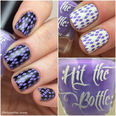 Hit The Bottle stamping polish - I lilac it like that (5ml)