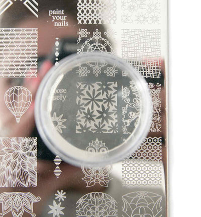 UberChic XL Clear Stamper with Clear Tall Holder