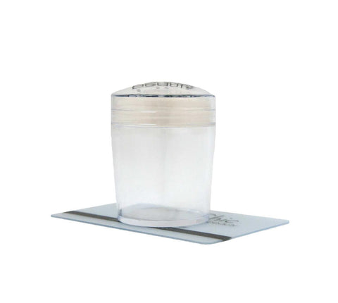 UberChic XL Clear Stamper with Clear Holder