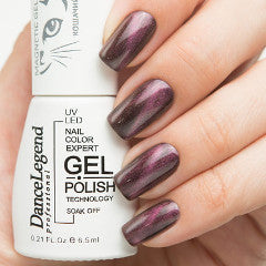Dance Legend Gel Polish - Magnetic Top Coat - LE 53 Red