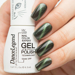 Dance Legend Gel Polish - Magnetic Top Coat - LE 56 Green