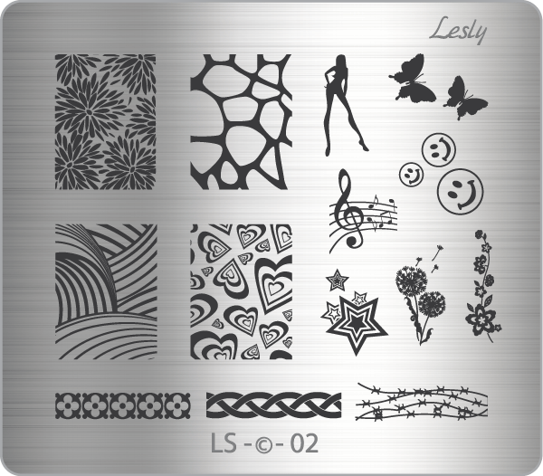 Lesly LS-02 stamping plate